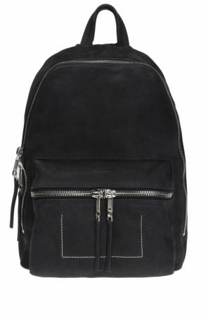 Leather backpack od Rick Owens